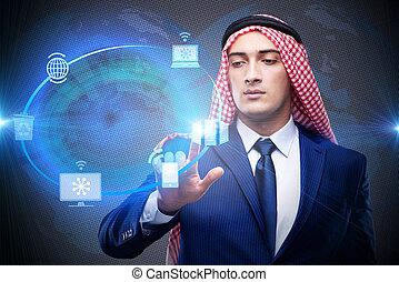 アラビア人, 人, 中に, 世界的である, 計算, 概念