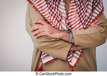 アラビア人, 肖像画, ビジネスマン