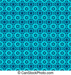 アラビア, ornament., seamless, 抽象的