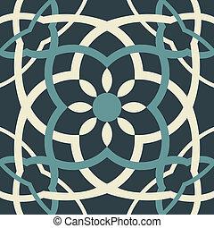 アラベスク, seamless, パターン