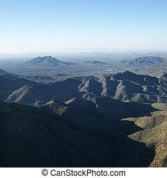 アリゾナ, 山, range.