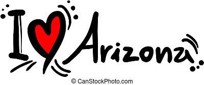 アリゾナ, 愛