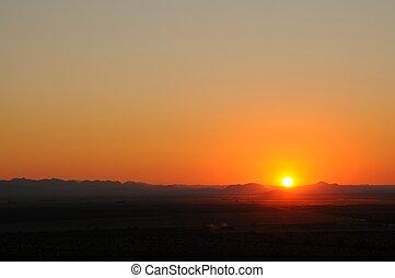アリゾナ, 日没