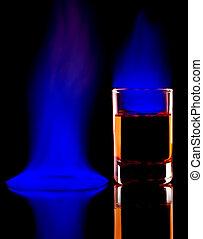 アルコール, 燃焼