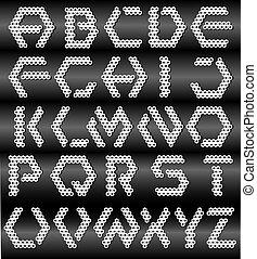 アルファベット, 幾何学的