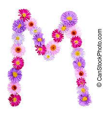 アルファベット, 花