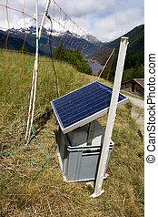 アルプス, スイス人, 太陽 パネル