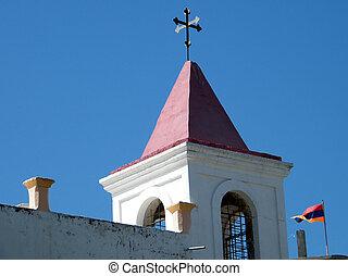 アルメニア, 教会, coptic, jaffa, 旗, 2011