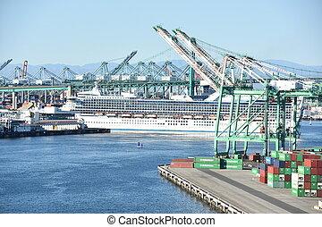 アンジェルという名前の人たち, los, カリフォルニア, 港