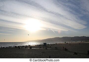 アンジェルという名前の人たち, los, 浜, santa-monica