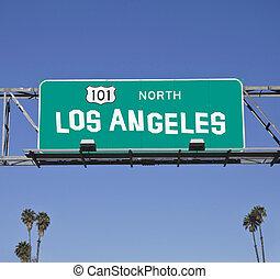アンジェルという名前の人たち, los, 101, 高速道路の印
