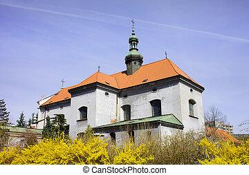 アンソニー, st. 。, ワルシャワ, padua, 教会