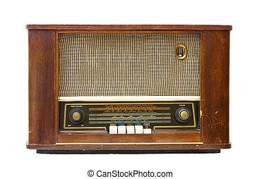 アンティークなラジオ, トランジスタ