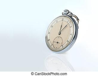 アンティークな小型の腕時計