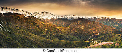 アンデス山脈, 高さ