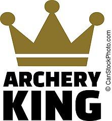 アーチェリー, 王