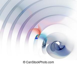 アーチ, さざ波を立てる, 抽象的