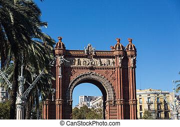 アーチ, バルセロナ, 勝利