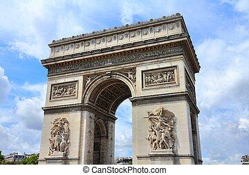 アーチ, パリ, triumphal