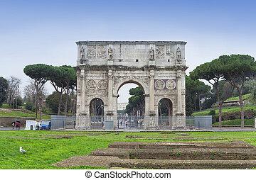 アーチ, ローマ, イタリア, constantine, 都市