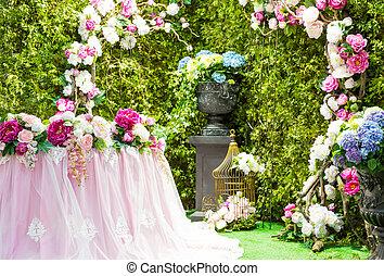 アーチ, 結婚式