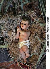 イエス・キリスト, クリスマス, st. 。, 首位, 赤ん坊, ピーター, tabgha-church, 数字