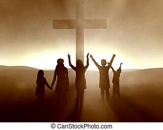 イエス・キリスト, 子供, キリスト, 交差点