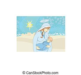 イエス・キリスト, 子供, madonna