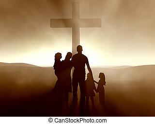 イエス・キリスト, 家族, 交差点