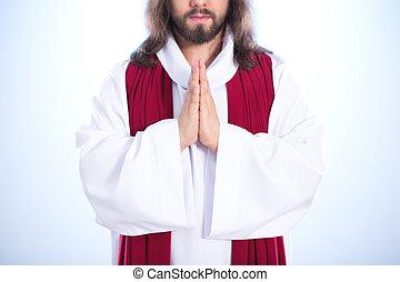 イエス・キリスト, 手を折った
