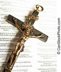 イエス・キリスト, 聖書, とがめ立てられた, キリスト, 開いた, 交差点