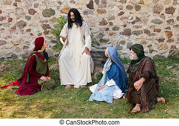 イエス・キリスト, 説教, 人々