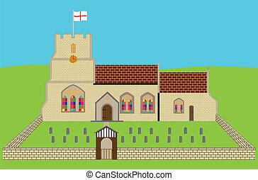 イギリスの教会堂