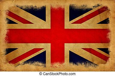 イギリス, グランジ, 旗