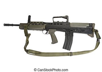 イギリス, ライフル銃, l85a1, 襲撃