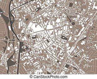 イギリス, レスター, 都市 地図, イギリス\