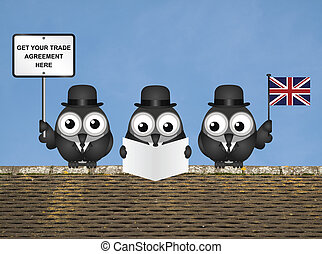 イギリス, 取引しなさい, 代表団