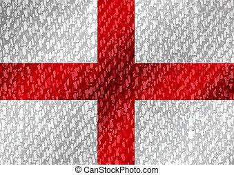 イギリス\, 旗, 共和国