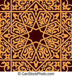 イスラム教, アラビア, 装飾, seamless