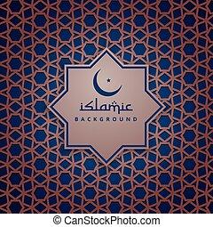イスラム教, デザイン, 背景 パターン