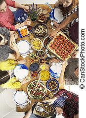 イタリア語, 人々, レストラン