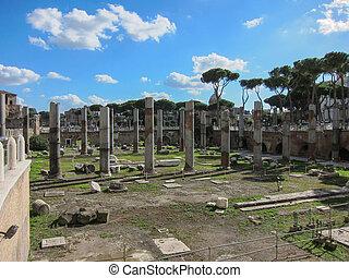 イタリア, ローマ人, ローマ, 台なし