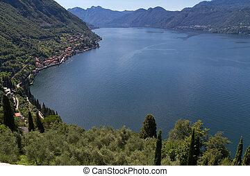 イタリア, 湖, 見落とすこと, como