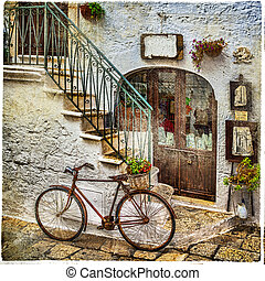 イタリア, 通り, 古い