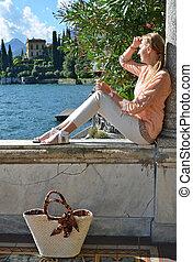 イタリア, como, 湖