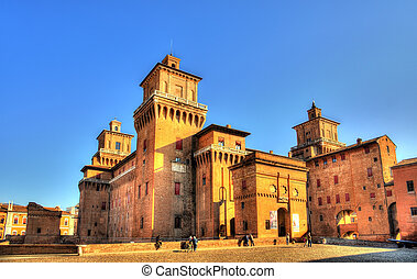 イタリア, san, ∥ディ∥, michele, -, estense, castello, ferrara, ∥...