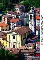 イタリア, san, terme, pellegrino, 教会, 教区