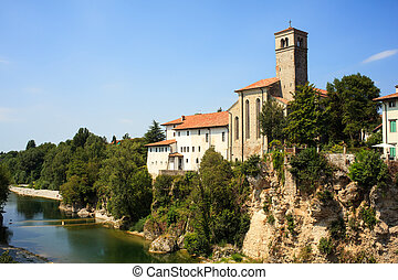 イタリア, st. 。, 教会, -, del, francesco, friuli, cividale