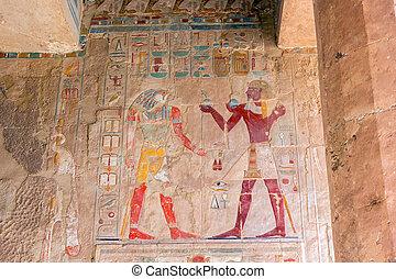 イメージ, エジプト, 古代, 色
