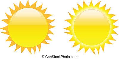 イメージ, 太陽 セット, グロッシー